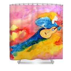 Musical Spirit 19 Shower Curtain