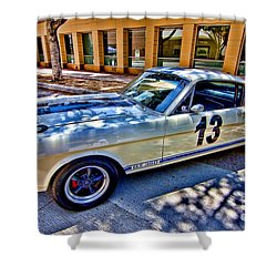 Mustang Gt 350 Shower Curtain