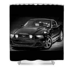 Mustang Gt Shower Curtain