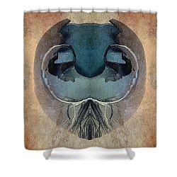 Mutation Shower Curtain by WB Johnston