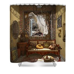 My Art In The Interior Decoration - Morocco - Elena Yakubovich Shower Curtain by Elena Yakubovich