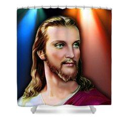 My Beautiful Jesus 3 Shower Curtain