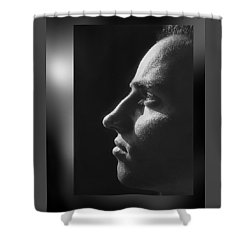 Just  Don' T  Smoke  Shower Curtain by Hartmut Jager