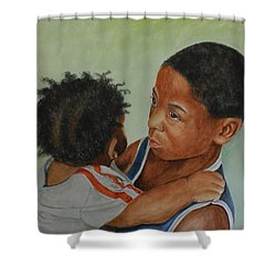 My Brother's Keeper Shower Curtain