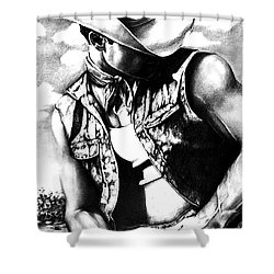 My Cowboy Man Shower Curtain