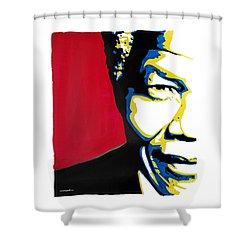 My Dear Nelson Mandela Shower Curtain