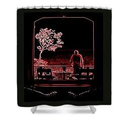 My Dreamer Shower Curtain by Karen Wiles
