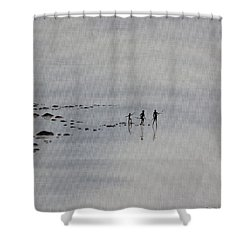 My Dreamtime 1 Shower Curtain by Tim Mullaney