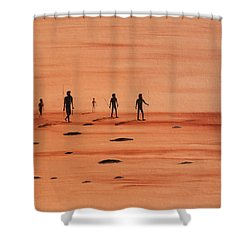 My Dreamtime 2 Shower Curtain by Tim Mullaney