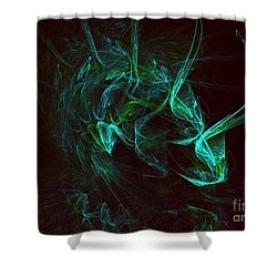 My Exotic Pet Shower Curtain by Elizabeth McTaggart