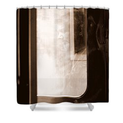 Shower Curtain featuring the photograph My Father by Faith Williams