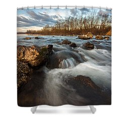 Shower Curtain featuring the photograph My Favorite Spot by Davorin Mance