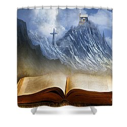 My Firm Foundation Shower Curtain