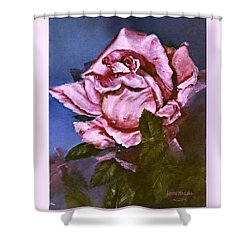 My First Rose Shower Curtain