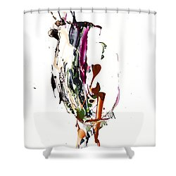 My Form Of Jazz Series - 10186.110709 Shower Curtain by Kris Haas