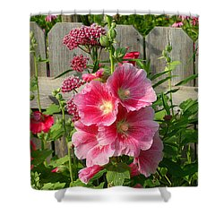 Shower Curtain featuring the photograph My Garden 2011 by Steve Augustin