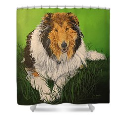 My Guardian  Shower Curtain by Wendy Shoults