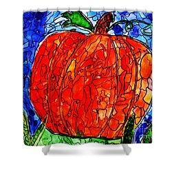 My Halloween Pumpkin Shower Curtain by PainterArtist FIN