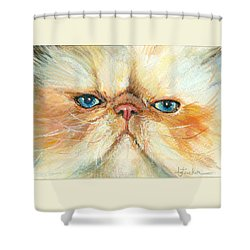 My Happy Face Shower Curtain