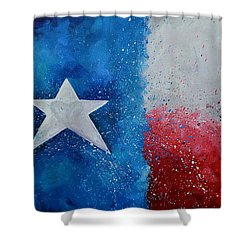 My Heart Belongs To Texas Shower Curtain
