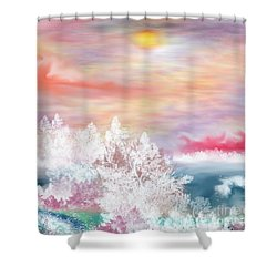 My Heaven Shower Curtain