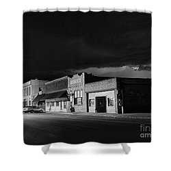 My Home Town II Shower Curtain