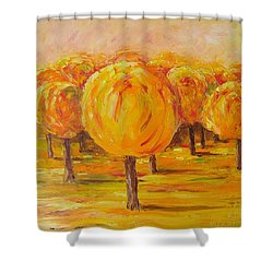 My Hot Autumn Shower Curtain