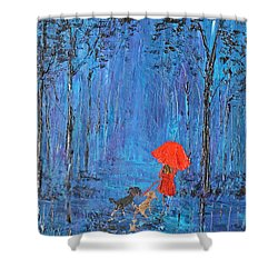 My Journey  Shower Curtain by Patricia Olson