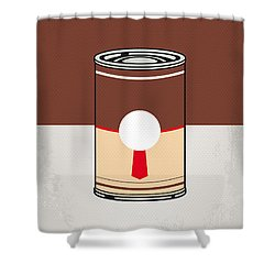 My Mario Warhols Minimal Can Poster-donkey Kong Shower Curtain