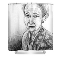 My Mother  Shower Curtain