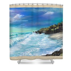 My Private Ocean Shower Curtain