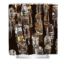 My Quartz Crystal Collection Shower Curtain by Tom Janca