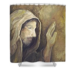 My Savior - My God Shower Curtain