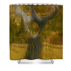 My Scream 2 Shower Curtain by Jack Zulli