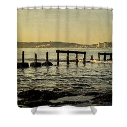 My Sea Of Ruins II Shower Curtain by Marco Oliveira