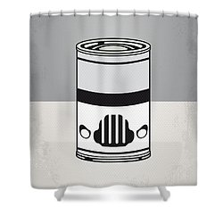 My Star Warhols Stormtrooper Minimal Can Poster Shower Curtain