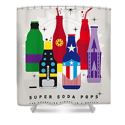 My Super Soda Pops No-27 Shower Curtain