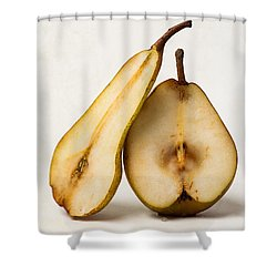 My Sweet And Perfect Half Shower Curtain by Alexander Senin