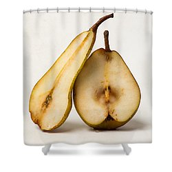 My Sweet And Perfect Half - Square Shower Curtain by Alexander Senin