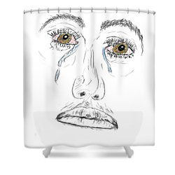 My Tears Shower Curtain