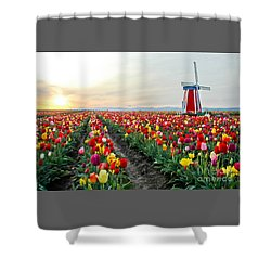 My Touch Of Holland 2 Shower Curtain by Nick  Boren