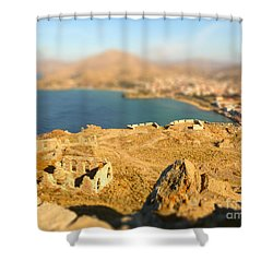 Shower Curtain featuring the photograph My Toy Castle by Vicki Spindler