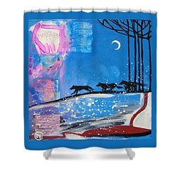 My Wildish Nature Shower Curtain by Cat Athena Louise