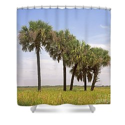 Myakka Shower Curtain