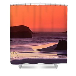 Myers Creek Sunset Shower Curtain