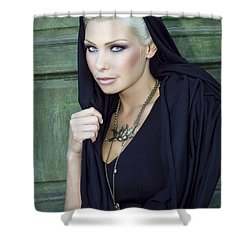 Mysterious Obsession Palm Springs Shower Curtain by William Dey