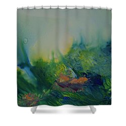 Mysterious Ocean Shower Curtain