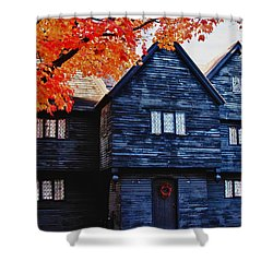 Mysterious Salem Shower Curtain by Jeff Folger