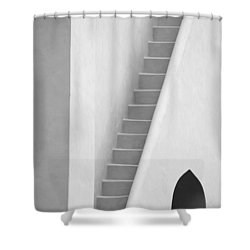 Mysterious Staircase Shower Curtain