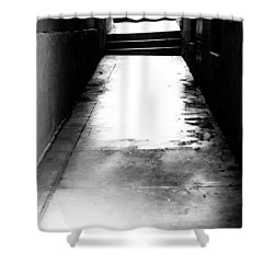 Mysterious Walkway Shower Curtain by Shelby  Young